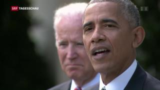 Video «Obama verspricht reibungslose Übergabe» abspielen