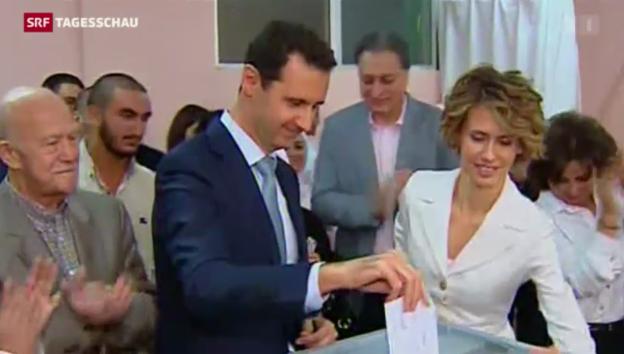 Video «Wahlen in Syrien» abspielen