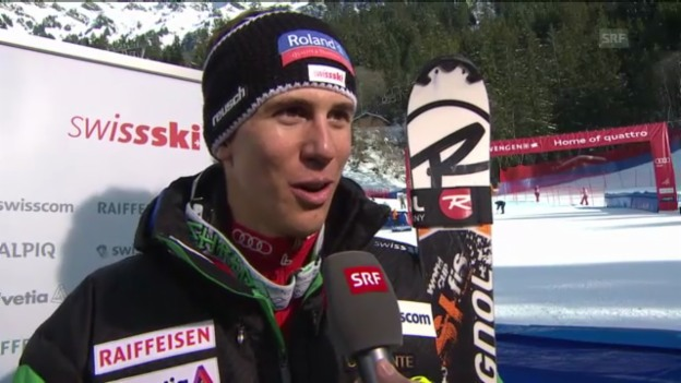 Video «Ski alpin: Interview Zenhäusern («sportlive»)» abspielen