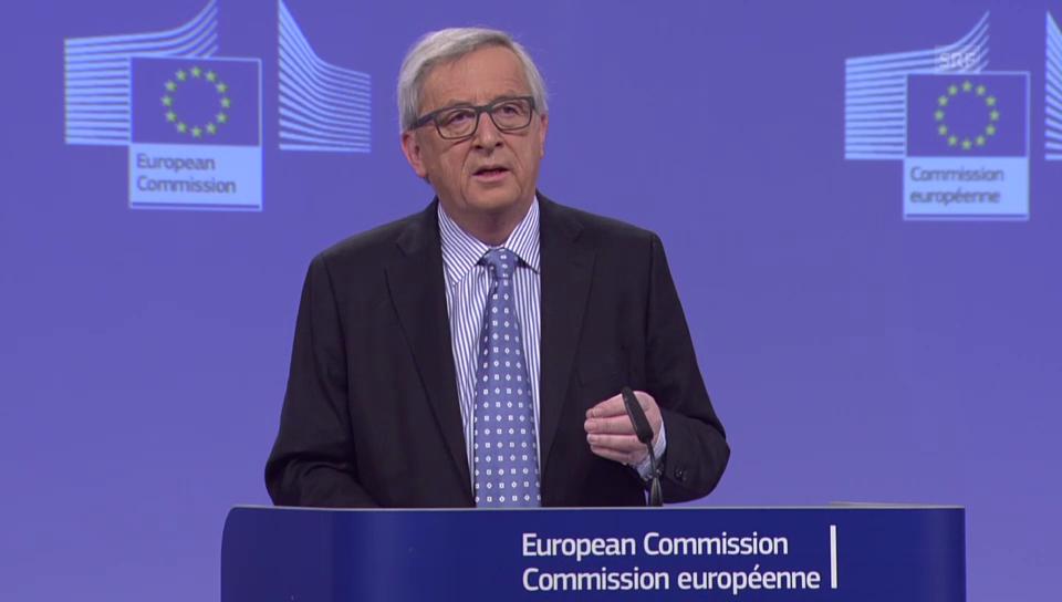 Junckers «offenes Wort» an Flüchtlinge