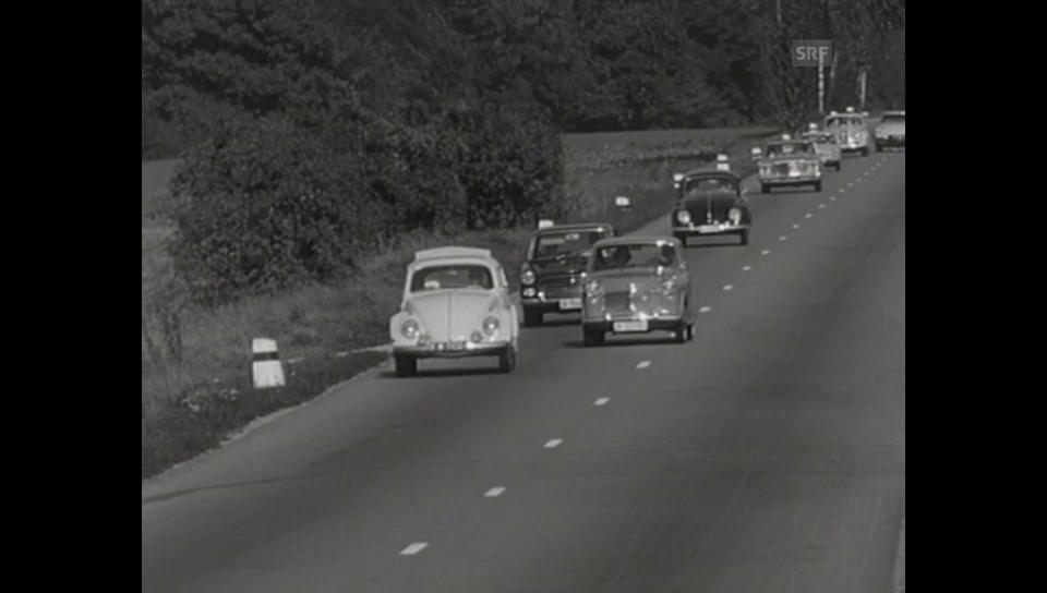 5. Oktober 1962: Tollkühne Autofahrer