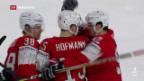 Video «Schweiz im Viertelfinal der Eishockey-WM» abspielen