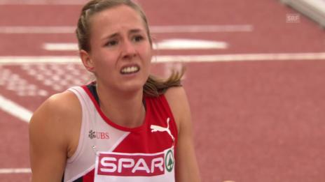 Video «Leichtathletik: Selina Büchel verpasst 800-m-Final knapp» abspielen