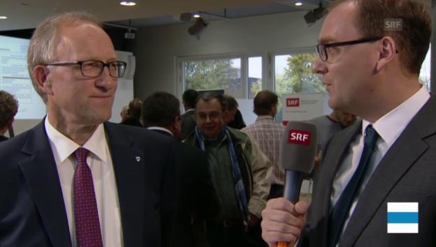 Video «ZG: Einschätzung und Gespräch mit Peter Hegglin (CVP)» abspielen