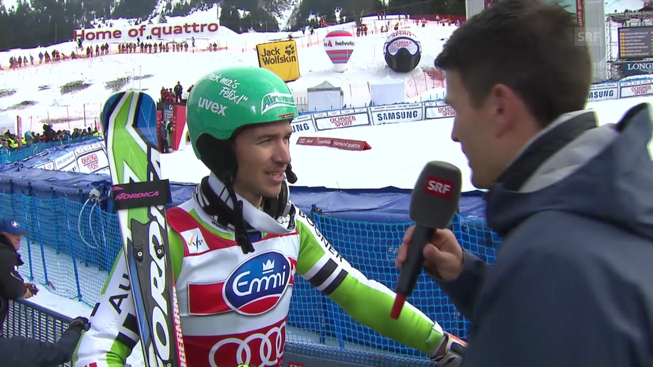 Ski Alpin: Slalom Lenzerheide, Interview Neureuther («sportlive», 16.03.2014)