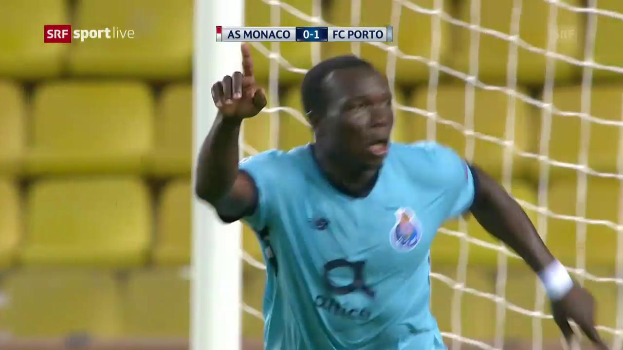Porto setzt sich auswärts bei Monaco durch