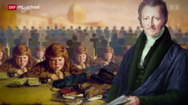 Video «Science Gossip: Thomas Robert Malthus (12/13)» abspielen