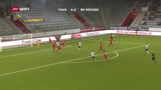 Der FC Thun schaltet Häcken Göteborg aus («sportaktuell»)
