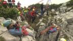 Video «Glückliches Ende im deutschen Höhlendrama» abspielen