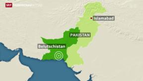 Video «Wieder ein Erbeben in Pakistan» abspielen
