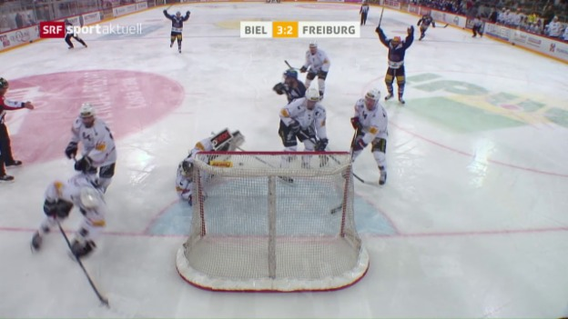 Video «Biel revanchiert sich an Freiburg» abspielen