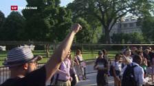 Video «Bisher verliefen weitere Proteste friedlich» abspielen
