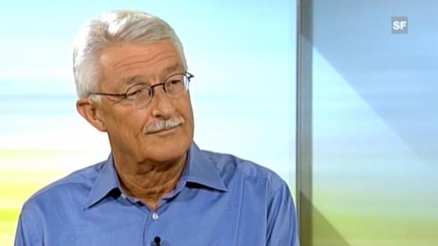 Video «Interview mit Wilfried Haeberli, Geowissenschaftler Uni Zürich» abspielen