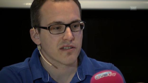 Video «Ausschnitte aus der Medienkonferenz mit Ronny Keller» abspielen