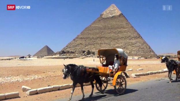 Video «Ägyptens Tourismus durch Krise angeschlagen» abspielen