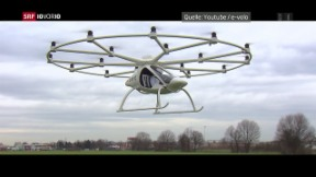 Video «FOKUS: Fliegende Autos» abspielen