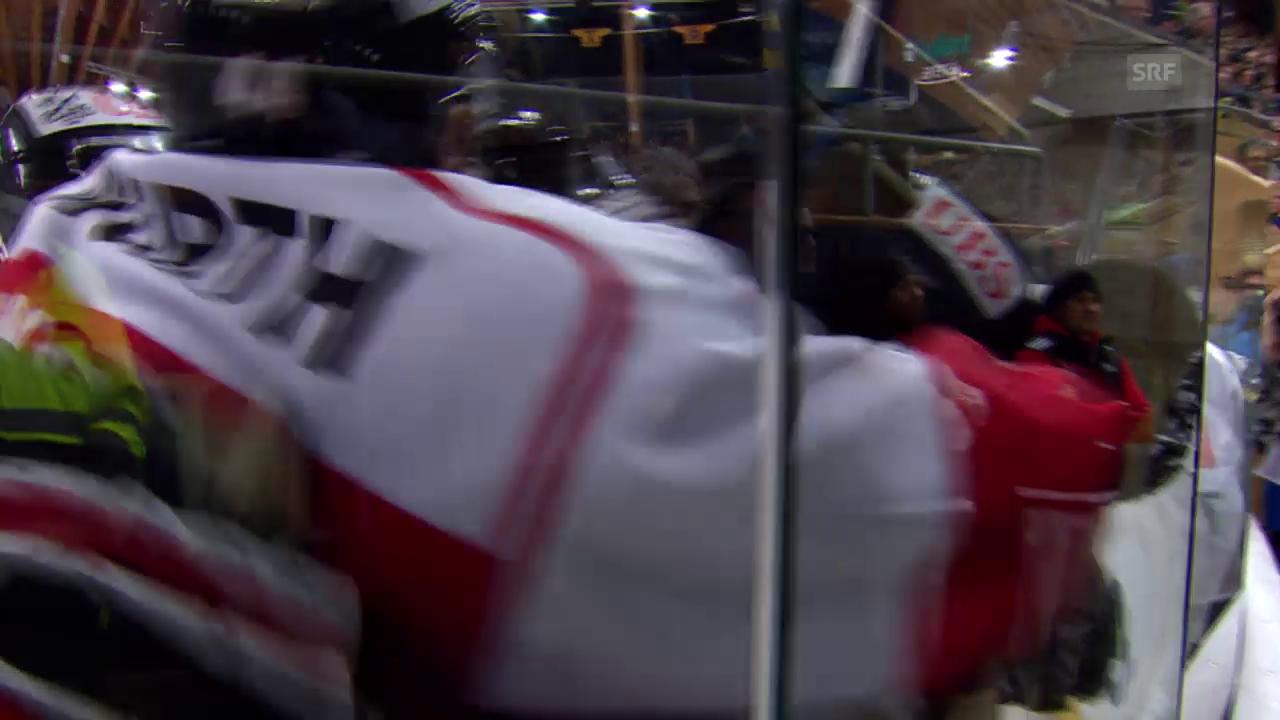 Eishockey: Spengler-Cup, Doppelschlag Kanada 6:5