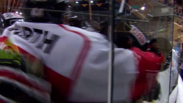 Video «Eishockey: Spengler-Cup, Doppelschlag Kanada 6:5» abspielen