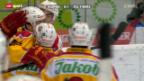 Video «NLA: Playoff-Halbfinal Kloten-Tigers, Spiel 1» abspielen