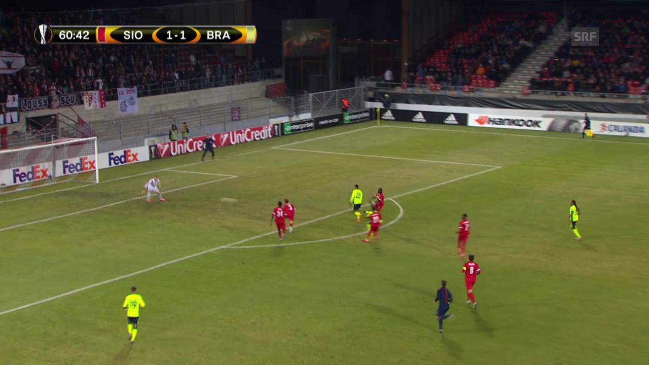 Sions Heimniederlage gegen Braga