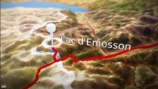 Link öffnet eine Lightbox. Video Live vom Emosson-Staudamm, Hüttenleben abspielen