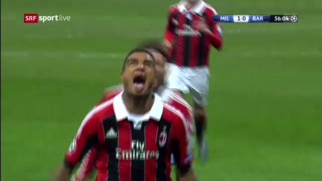 CL: Highlights Hinspiel Milan - Barcelona («sportlive»)