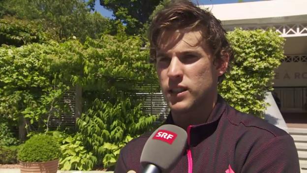 Video «Interview mit Dominic Thiem vor den French Open» abspielen