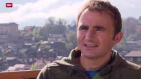 Video «Klettern bis ans Limit – Ueli Steck im Gespräch » abspielen
