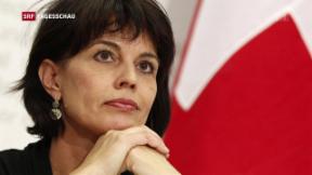 Video «Bundesrätin Doris Leuthard ist «enttäuscht»» abspielen