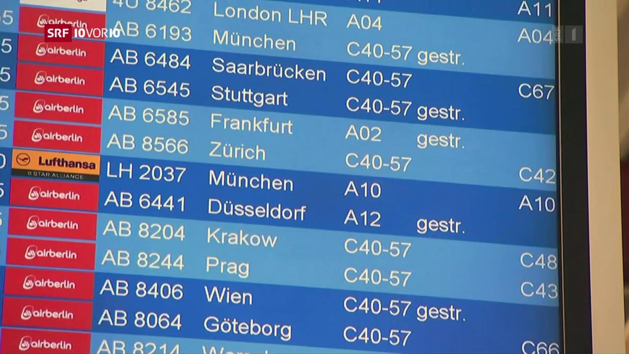 Was geschieht mit Air Berlin?