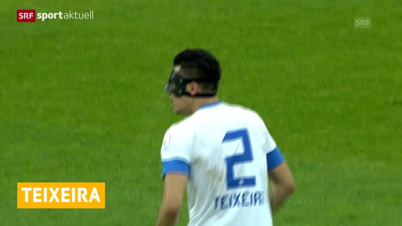 Fussball: Teixeira muss Zürich verlassen