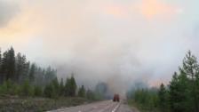 Link öffnet eine Lightbox. Video Waldbrände in Schweden ausser Kontrolle (unkommentiert) abspielen