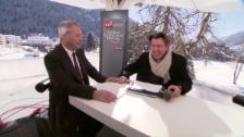 Video «Reto Lipp: Aufregende Tage am WEF» abspielen
