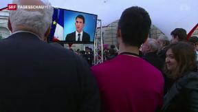 Video «Frankreichs Regierung unter Zugzwang» abspielen