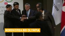 Link öffnet eine Lightbox. Video Nordkorea ist an Olympia dabei abspielen