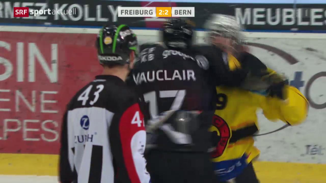 Bern verliert Faustkampf und Spiel in Freiburg