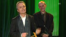 Video «Beste Filmmusik: Peter von Siebenthal und Richard Köchli» abspielen
