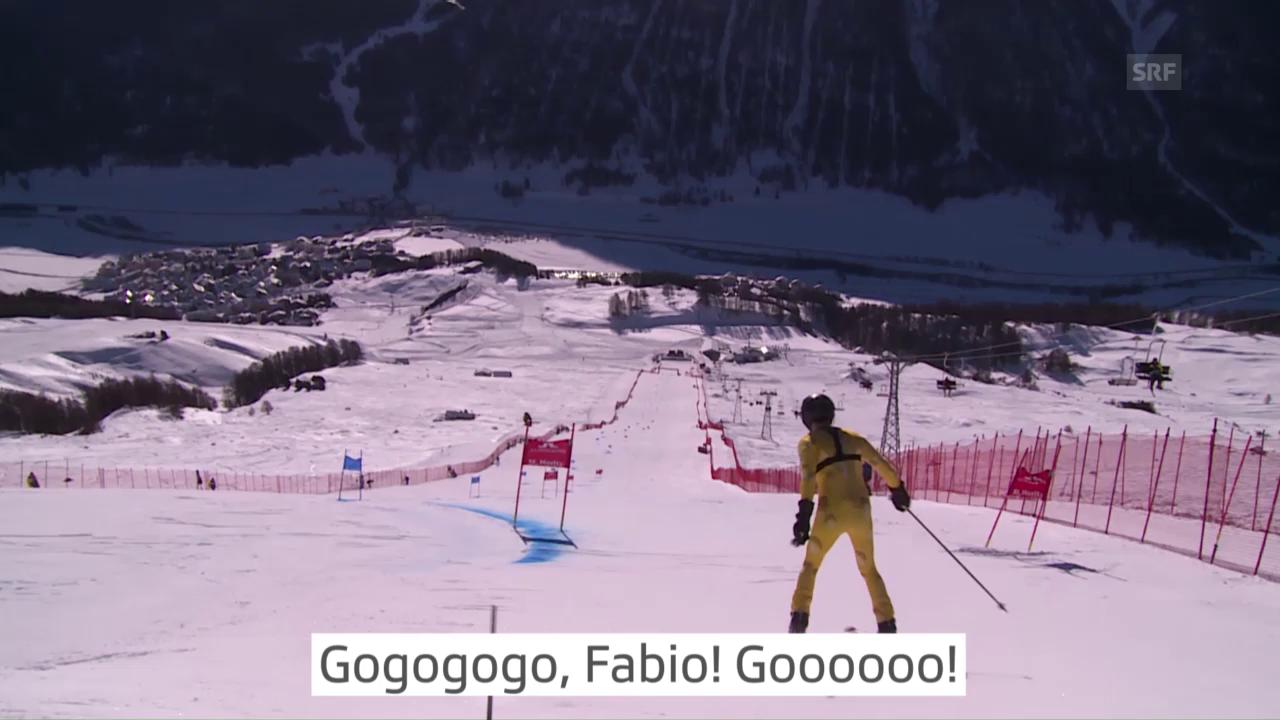 WM-Riesenslalom: Fabio Nay fährt 1:38:04!