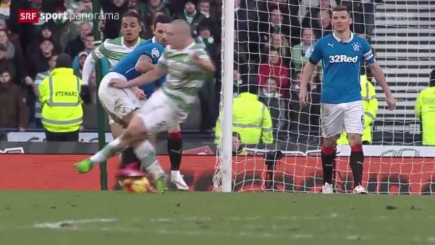 Video «Fussball: «Old Firm» – das erste schottische Derby seit 3 Jahren» abspielen