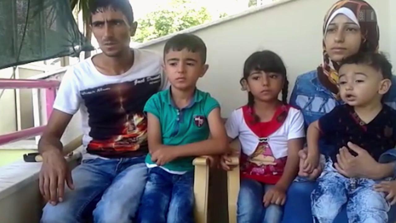 «Sie wollten uns töten» – Eine syrische Familie auf der Flucht