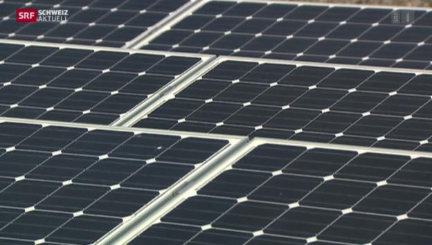 Video «Gossau will Solarstrom nicht mehr fördern» abspielen