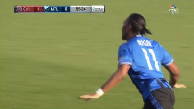 Video «Drogba und Kollegen verzaubern MLS-Zuschauer (Quelle: mlssoccer.com)» abspielen