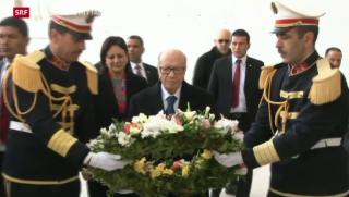 Video «Dritter Attentäter von Tunis flüchtig» abspielen