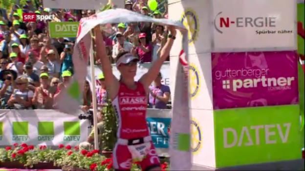 Video «Triathlon: Steffen gewinnt über Ironman-Distanz («sportpanorama»)» abspielen