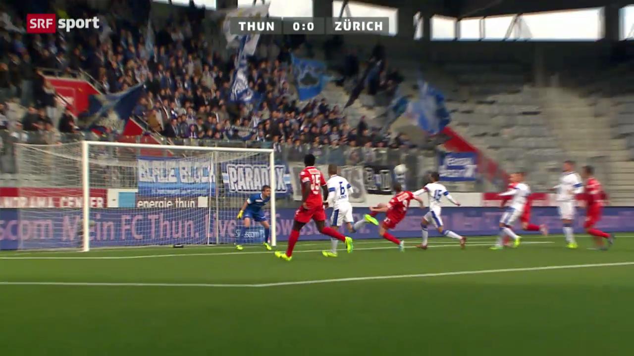 Fussball: Thun - Zürich