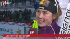 Video «12.11.2011: Van der Graaff läuft auf Rang 5» abspielen