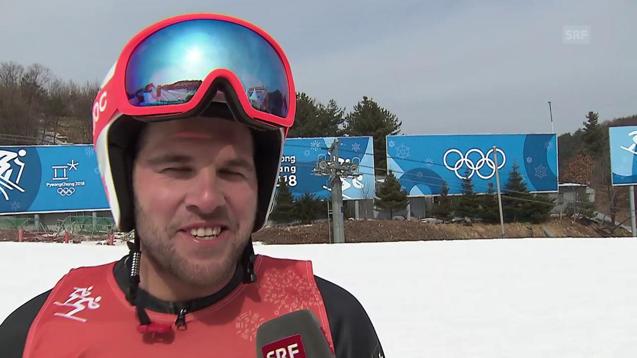 Bischofberger: «Wind macht es schwierig»