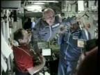 Video «Der erste Weltraum-Tourist dockt bei der ISS an» abspielen