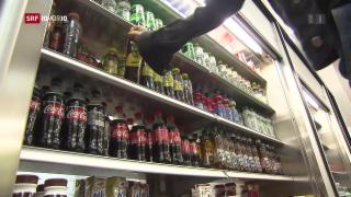 Video «FOKUS: Viel Zucker in Schweizer Getränken» abspielen