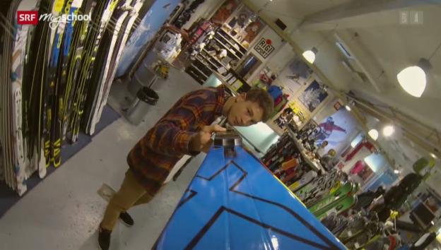 Video «Berufsbild: Detailhandelsfachmann EFZ Sportartikel» abspielen